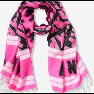 NWT! Pink Victoria secret blanket scarf!